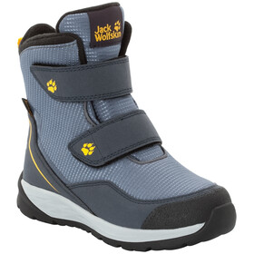Jack Wolfskin Polar Bear Texapore High VC Chaussures Enfant, pebble grey/burly yellow XT